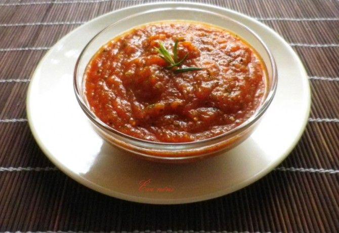 Paradicsomos salsa Évi nénitől