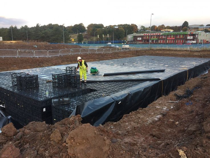 RAINBOX® attenuation system prepares the ground for high tech car supermarket