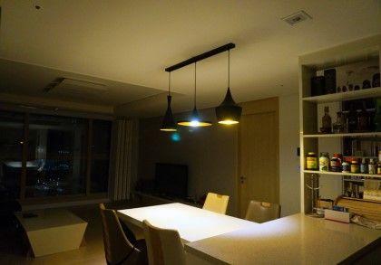 주방 셀프인테리어) 셀프조명교체, 식탁등교체 : 네이버 블로그