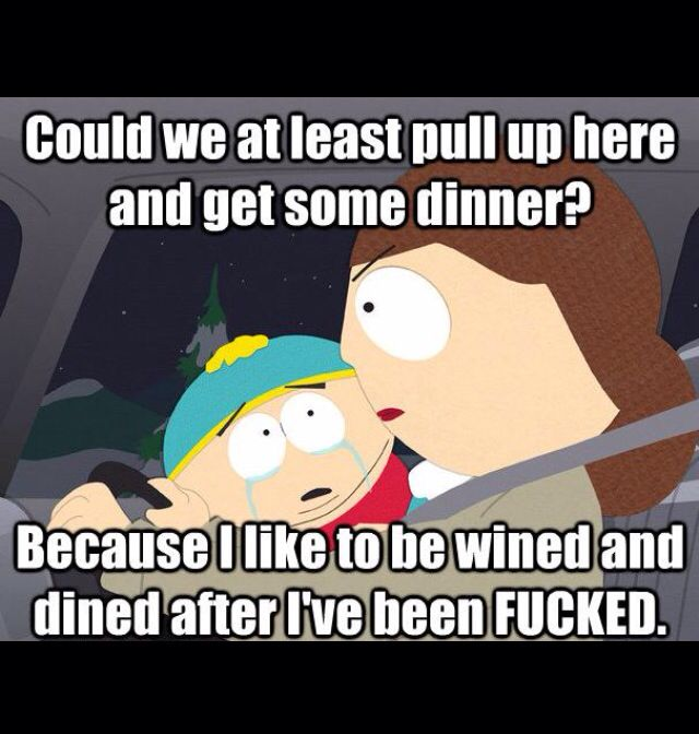 Favorite South Park quote #ipad