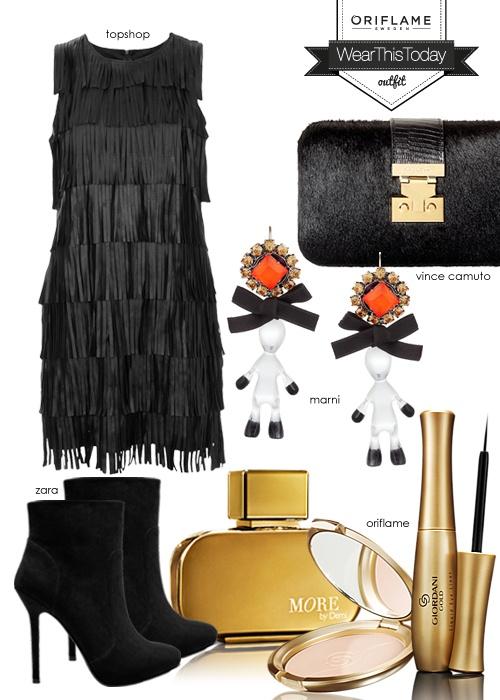 Your coctail dress. Sponsored by Oriflame   #outfit #womenswear  #oriflame  Seja CLIENTE ou REVENDEDORA Oriflame ✎ Inscreva-se em http://pt.oriflame.com/recruits/online-registration.jhtml?sponsor=16285363 ou em http://www.oriregisto.com/