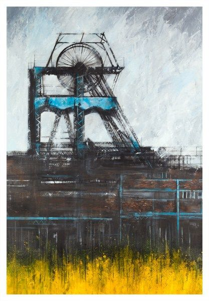 Potteries Monument – Chatterley Whitfield by David Brammeld