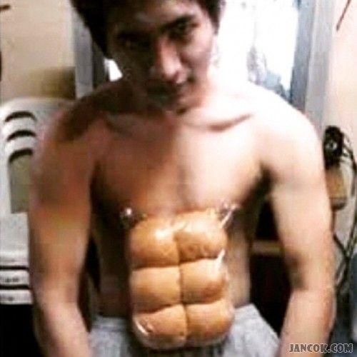 Cara membentuk otot perut six pack dengan cepat :)
