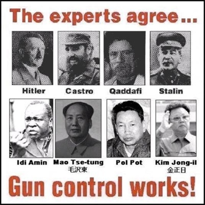 * 1929 -- SOVIET UNION : Establishes gun control. From 1929 to 1953…