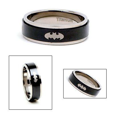 Batman Wedding Ring Set For Sale