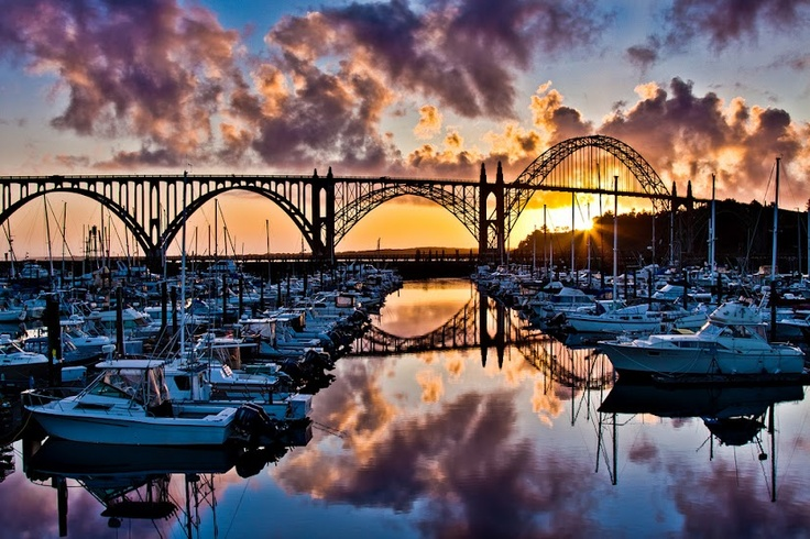 Yaquina Bay Bridge - Newport, Oregon