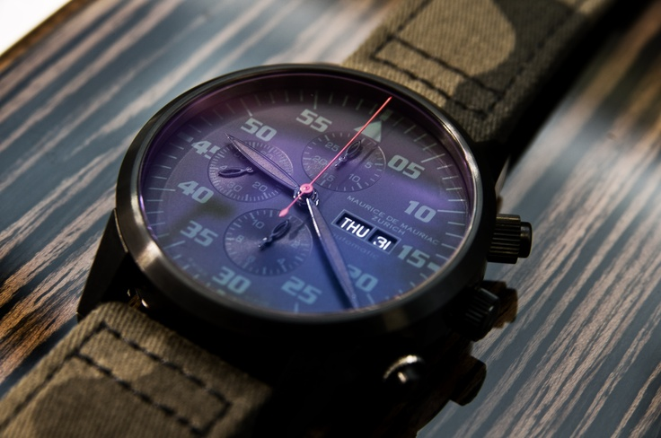 Another photo from this hot watch by Maurice de Mauriac. Zurich made.  © www.roccavision.com