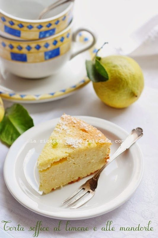 The recipe for happiness: soft cake with lemon and almonds Nigella ... or almost!