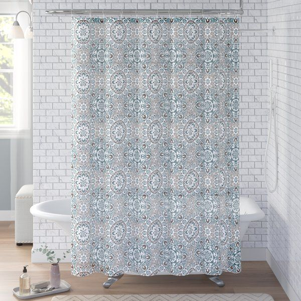 Esher Single Shower Curtain Cottage Style Showers Pottery Barn