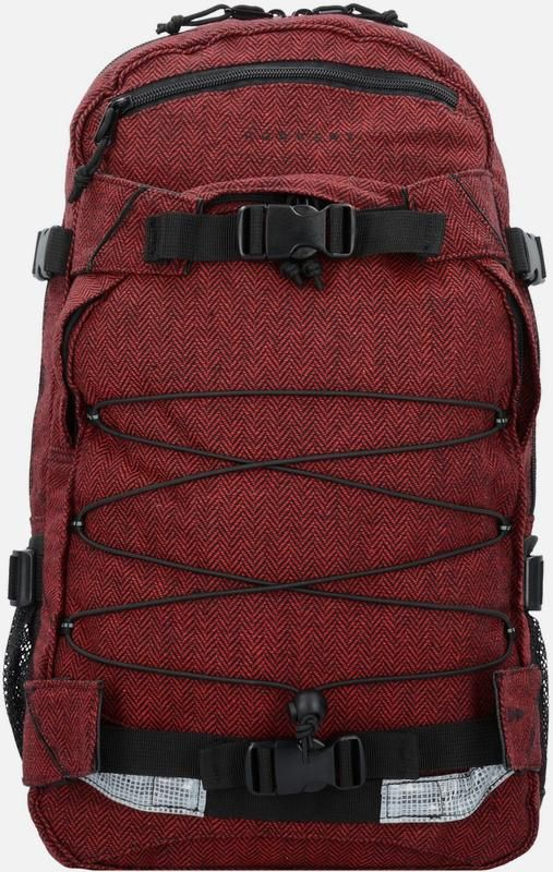 forvert backpack new laptop 39 louis 39 rucksack 50 cm in rot. Black Bedroom Furniture Sets. Home Design Ideas