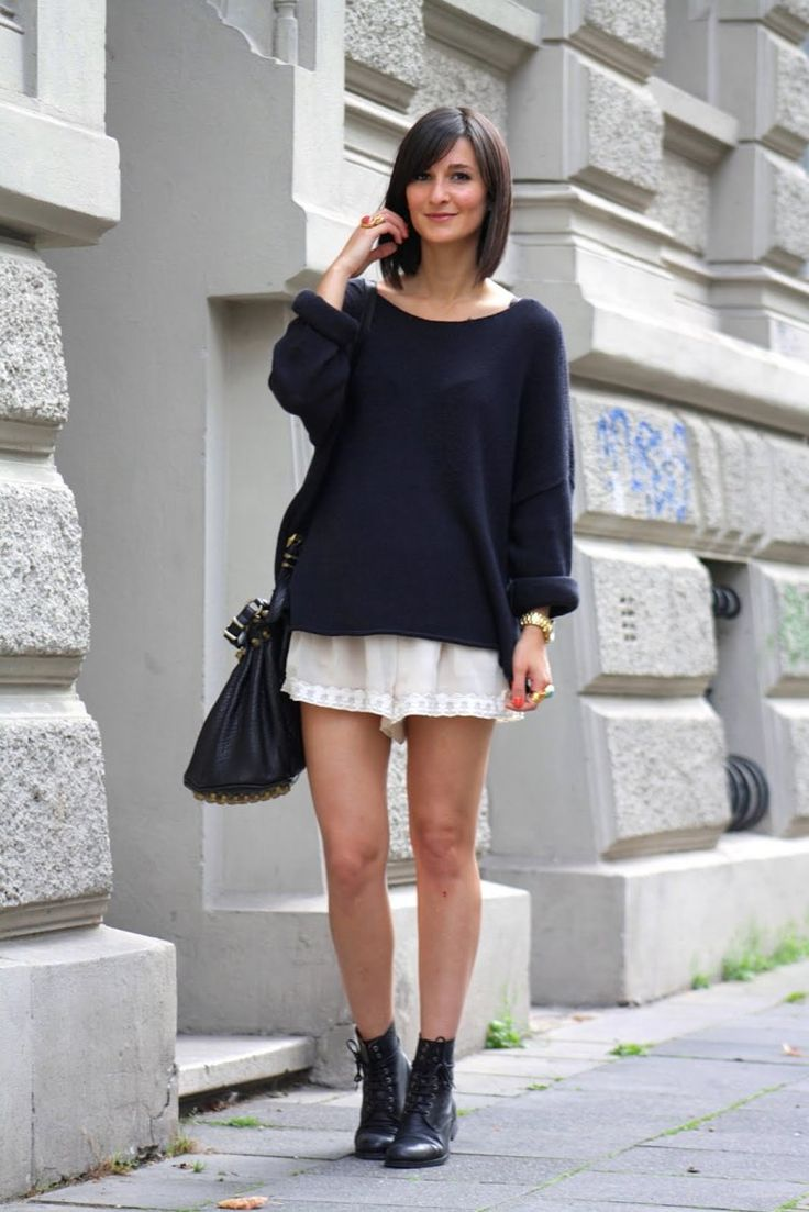 Knitwear Street Style 5 - pictures, photos, images