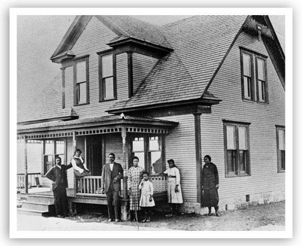 In the early twentieth century Boley, Oklahoma was the largest predominantly black town in the United States. Boley was officially opened for settlement in 1903 in Creek Nation, Indian Territory along the Fort Smith and Western Railroad. The interracial group that founded Boley included Lake M