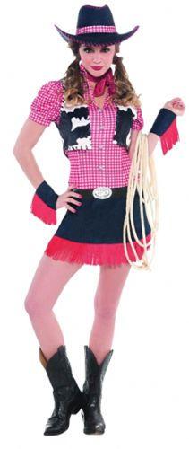 Western-Cowgirl-Hat-Ladies-Fancy-Dress-Wild-West-Womens-Cow-Girl-Costume