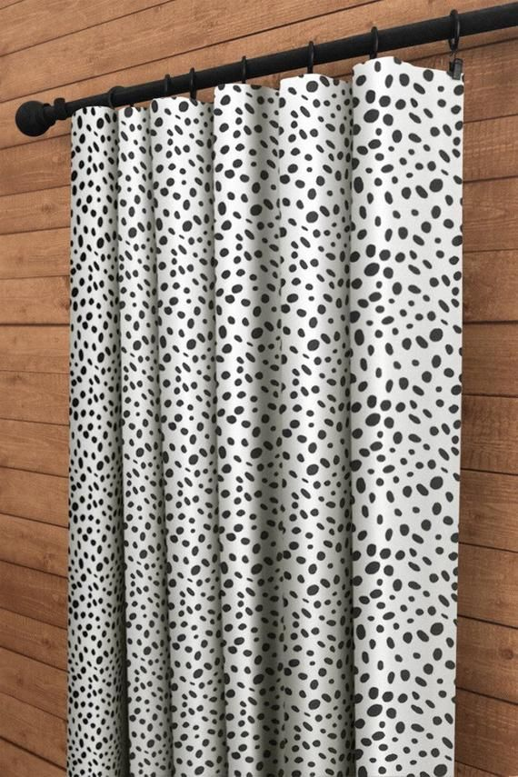 Curtains 3 Colors Black And White Curtains Curtain Panels Etsy In 2021 White Curtains Panel Curtains Window Curtains White Black and white patterned curtains