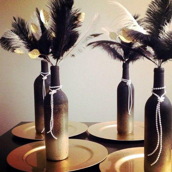 17 best images about wine bottle ideas on pinterest for Cool wine bottle ideas