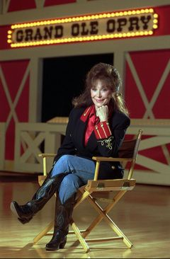 Recent Pictures of Loretta Lynn | Loretta Lynn at the Grand Ole Opry in 1995. She made her first ...