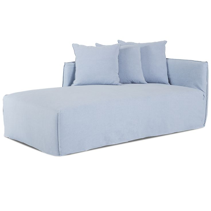 Bronte Blue Slipcover Day Bed