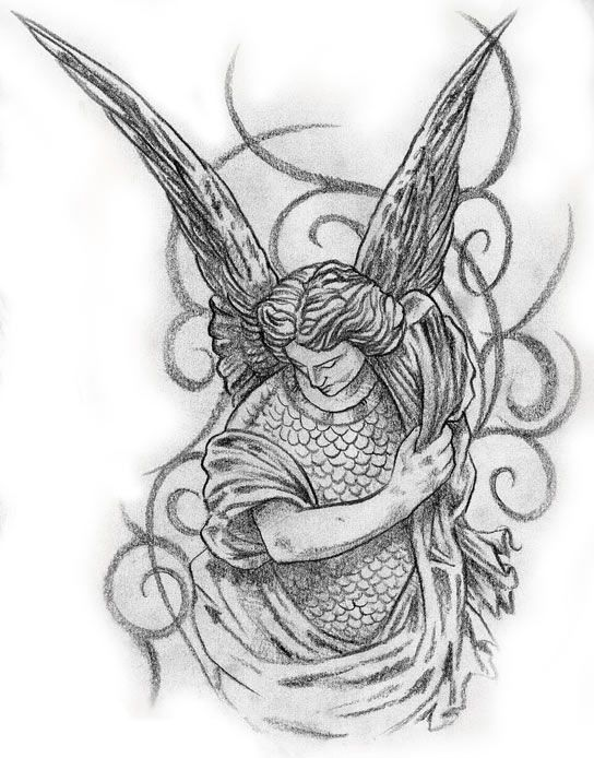 MALE ANGEL TATTOO                                                       …