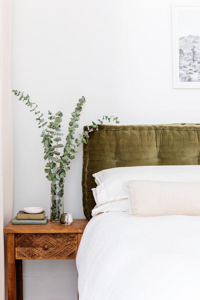 organic neutral bedroom decor