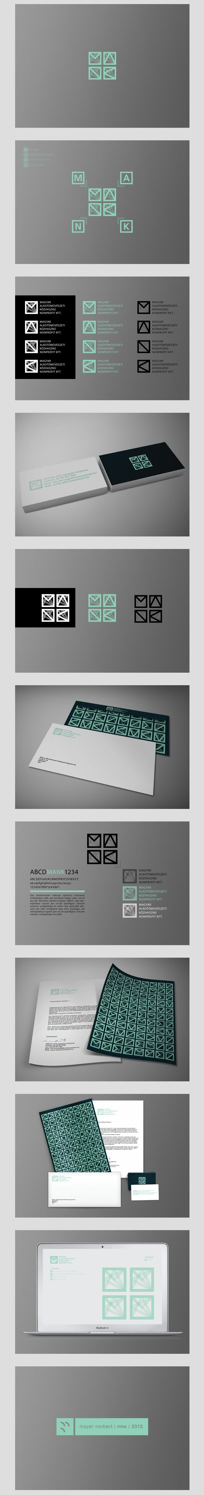 MANK Logo | #stationary #corporate #design #corporatedesign #logo #identity #branding #marketing <<< repinned by an #advertising agency from #Hamburg / #Germany - www.BlickeDeeler.de | Follow us on www.facebook.com/BlickeDeeler