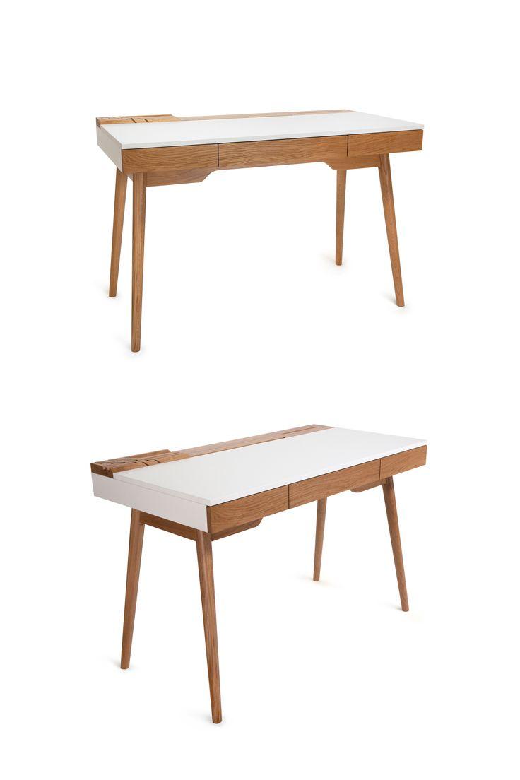 Biurko Omni marki Paged Meble. Znajdź więcej na: www.euforma.pl #biurko #desk #pagedmeble #design #polishdesign