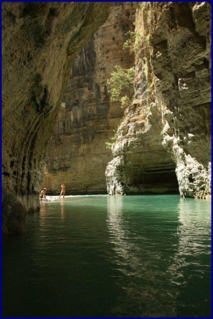 Zdjęcia: Kanion rzeki Osum, Kanion rzeki Osum, ALBANIA