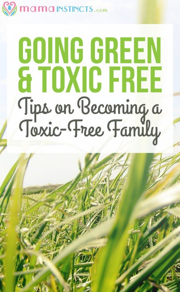 Take the step to a more non-toxic lifestyle with these easy tips and resources. Green living as it's best!