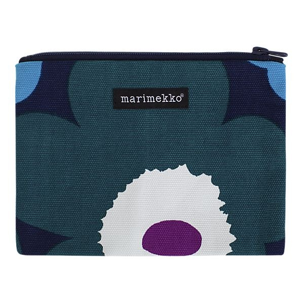 Marimekko Unikko Pieni Keiju teal bag. $24.00