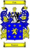 Beamon Coat of Arms / Beamon Family Crest