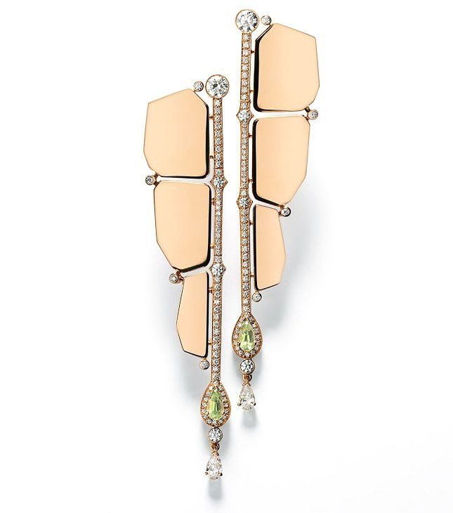 earrings by Pierre Hardy for Hermès