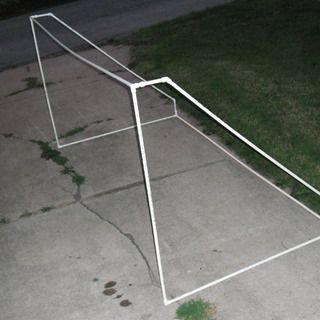 DIY PVC soccer goal