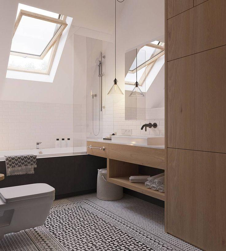 Casa Ostiense Bagno In Stile Scandinavo Bagno Scandinavo Idee Bagno Piccolo Arredamento Bagno