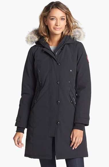 Canada Goose parka sale store - Women's Canada Goose 'Kensington' Slim Fit Down Parka with Genuine ...
