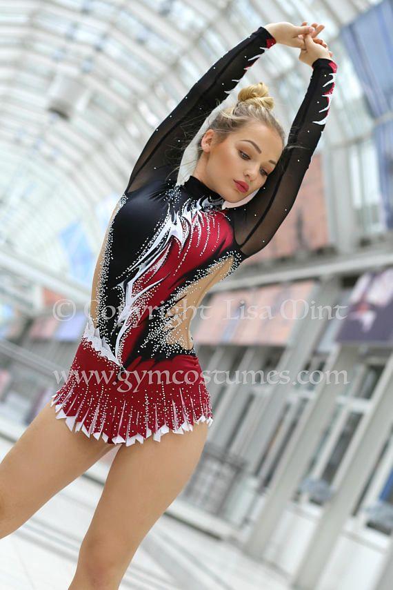 RG Leotard competition rhythmic gymnastics leotard