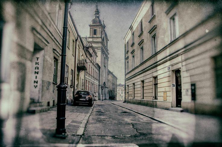 Poland, Piotrkow Trybunalski - old town / Polska Piotrków Trybunalski - stare miasto