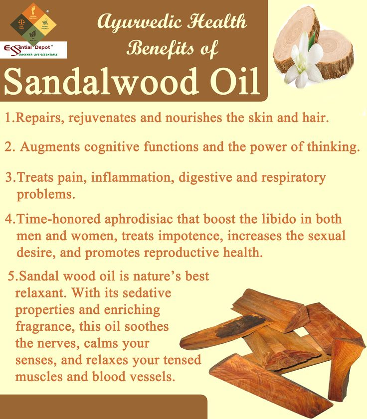 Ayurvedic health benefits of Sandalwood oil | Ayurvedic Oils