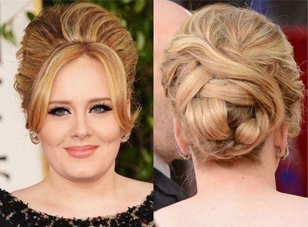 Adele updo