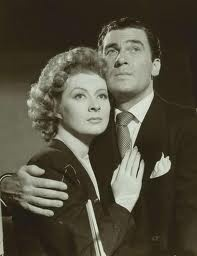 Greer Garson and Walter Pidgeon in MRS. MINIVER.  A wonderful movie that inspired many people in the early days of World War II