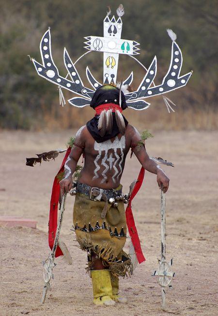 "Apache sacred Gaan (""Crown Dancer"", ""Mountain Spirit Dancer"")"
