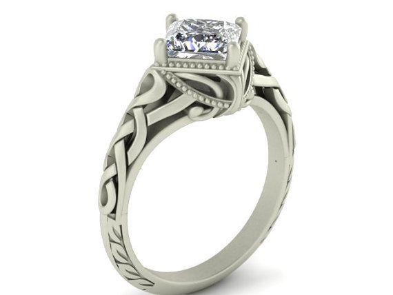 vintage celtic engagement ring www imgkid the