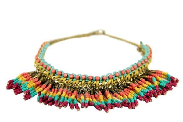 Collier ethnique Zapotèque