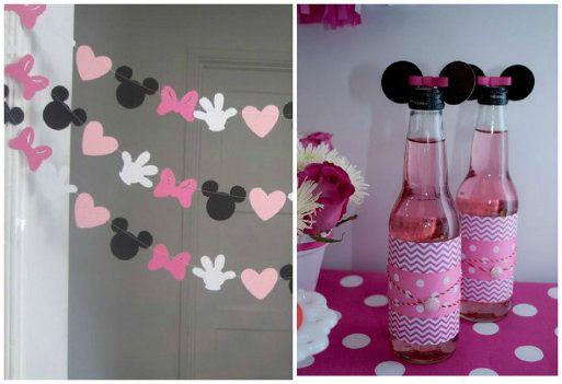 Ideas diy para una fiesta tem tica de minnie mouse ideas - Manualidades minnie mouse ...