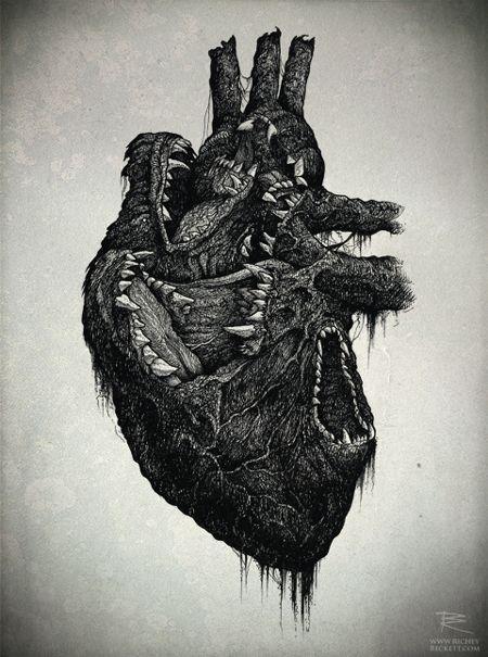 Wolf Heart | Illustration by Richey Beckett