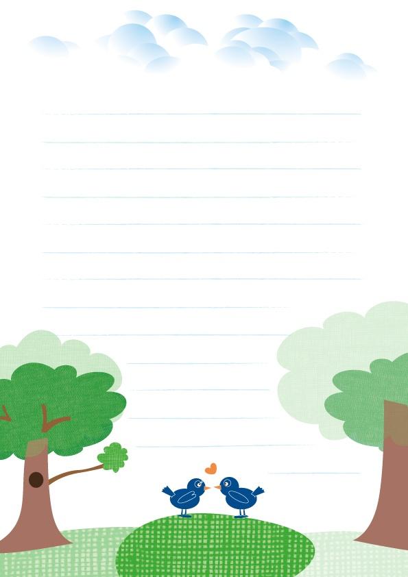 Speciaal voor Valentijn heb ik briefpapier ontworpen. Zo kan jij een liefdesbrief schrijven. Verras je lief met mooie woorden...