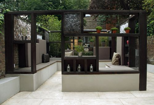 Modern outdoor design