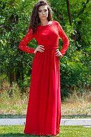 Красное платье Невеста открытой спиной 63720292
