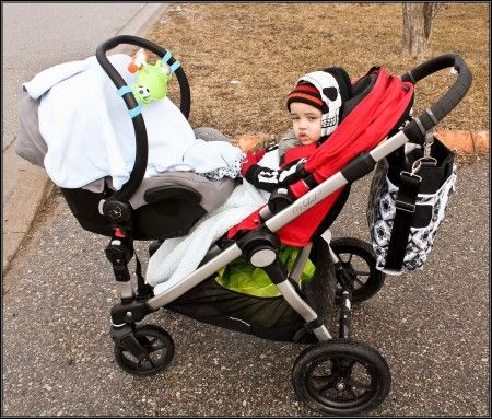 Baby Jogger #City Select #Double Stroller Fold