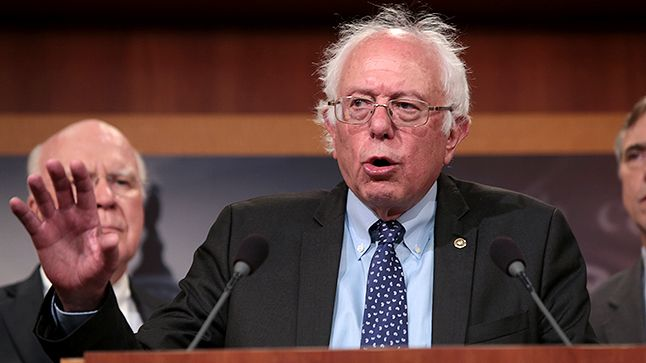 Eli Lilly's stock dropped nearly 2 points after Sanders criticized the company's pricing.