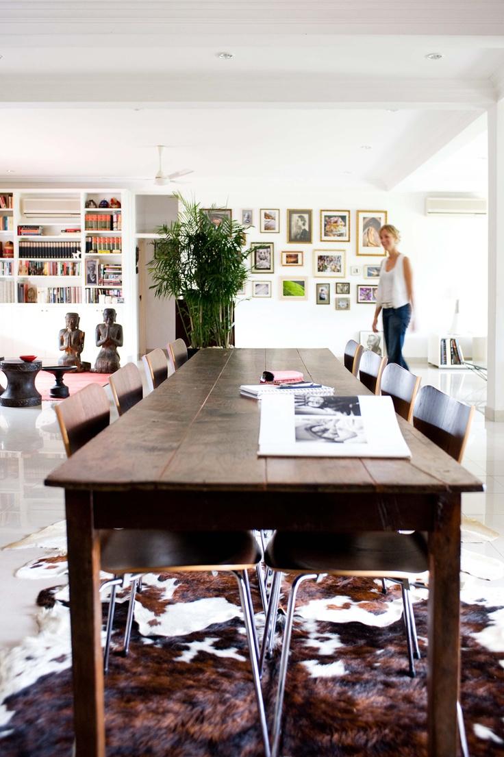 via Rue Magazine ArchivesDesign Room, Dining Room Tables, Living Room Design, Design Interiors, Interiors Design, Rue Magazines, Design Home, Art Wall, Interiors Decor