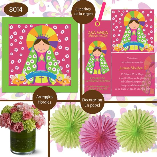 Ideas for celebrating the feast of Our Lady of Guadalupe on Dec. 12. Children could make paper flowers and collages of the Virgin with coloured scrapbook paper.